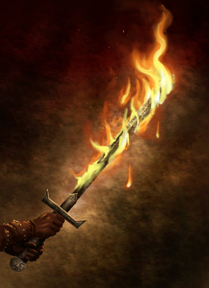Fire Blade by bradlyvancamp on DeviantArt