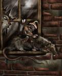 Rat Brownie by bradlyvancamp