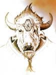 Minotaur-Brute Herd by bradlyvancamp