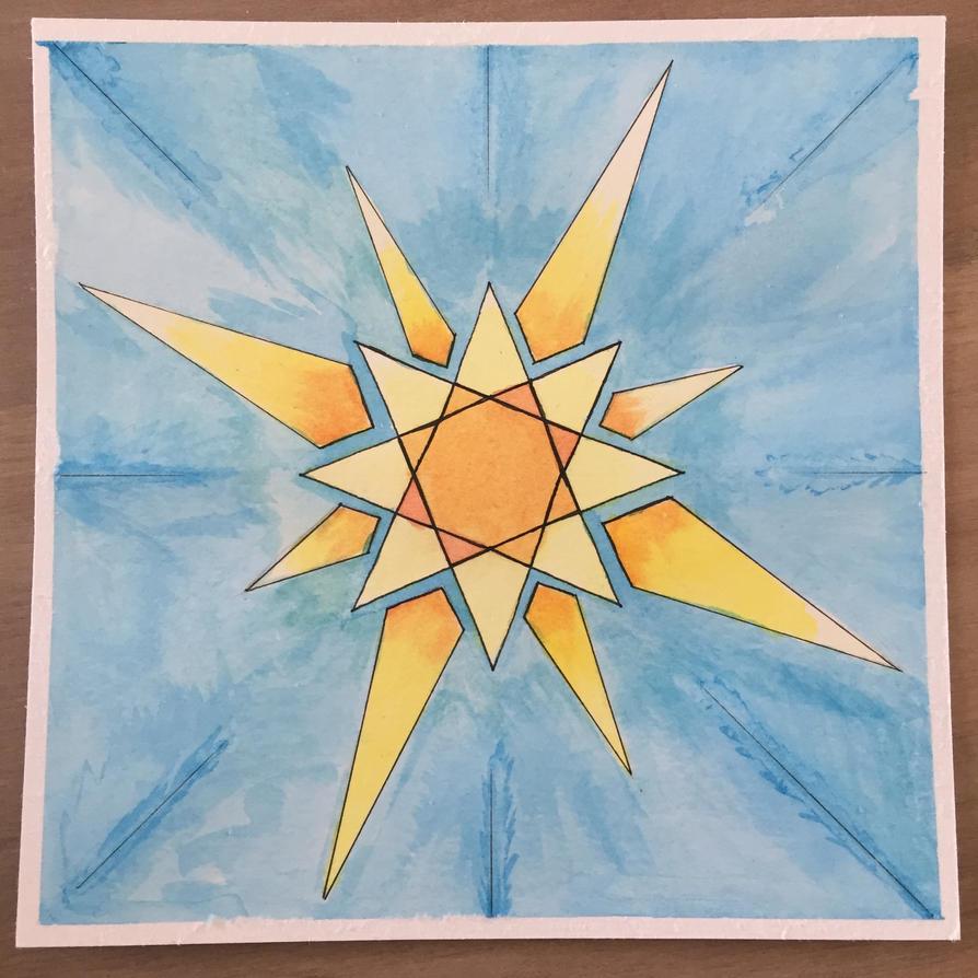 Sarenrae Sunburst by live-love-forgive