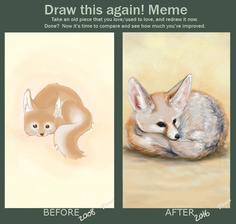 Draw this again! by rinoni