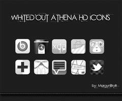 Whited Out Athena HD Icons by morgynbrytt