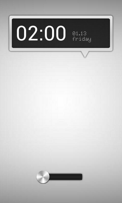 zzBullet WidgetLocker Theme -SilverBullet Mod- by morgynbrytt