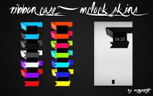 Ribbon Case mClock Set by morgynbrytt