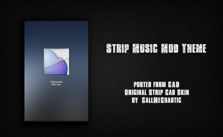 Strip Music Mod Theme by morgynbrytt