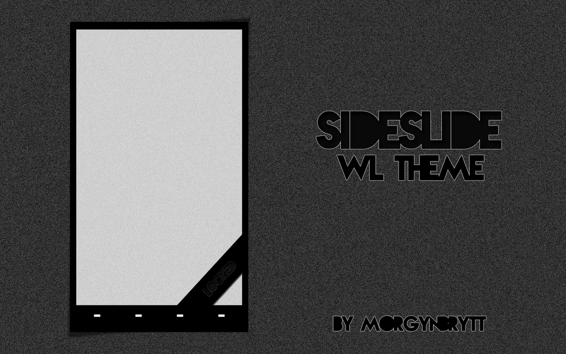 SideSlider WidgetLocker Theme by morgynbrytt