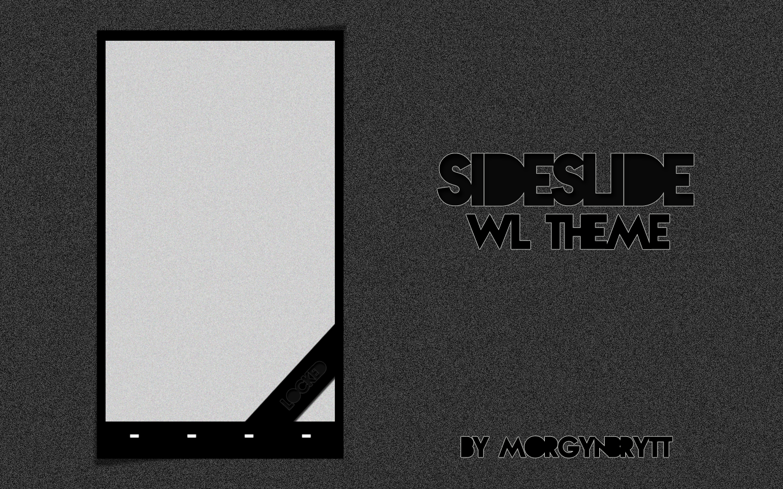SideSlider WidgetLocker Theme by morgynbrytt