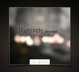 Illuminate WidgetLocker Slider