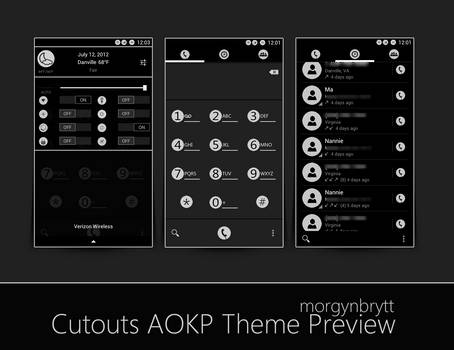 CutOuts AOKP Theme *Release****