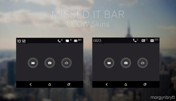 Missed It Bar UCCW Skins by morgynbrytt