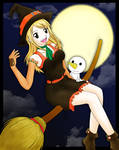 Happy Halloween: Lucy and Plue