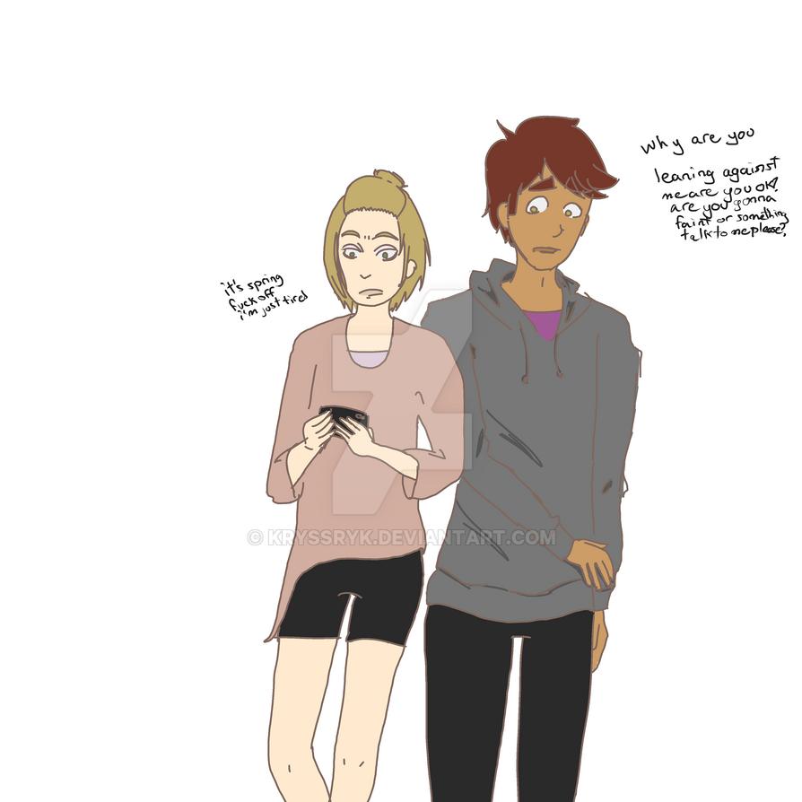 micah and sawyer by KryssryK