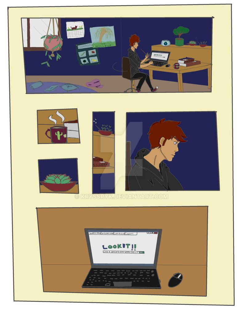 comic practice 1 by KryssryK