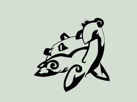 Tribal Lapras by hynoryuu