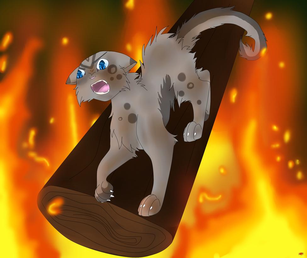 Ashfur's Fire by hynoryuu