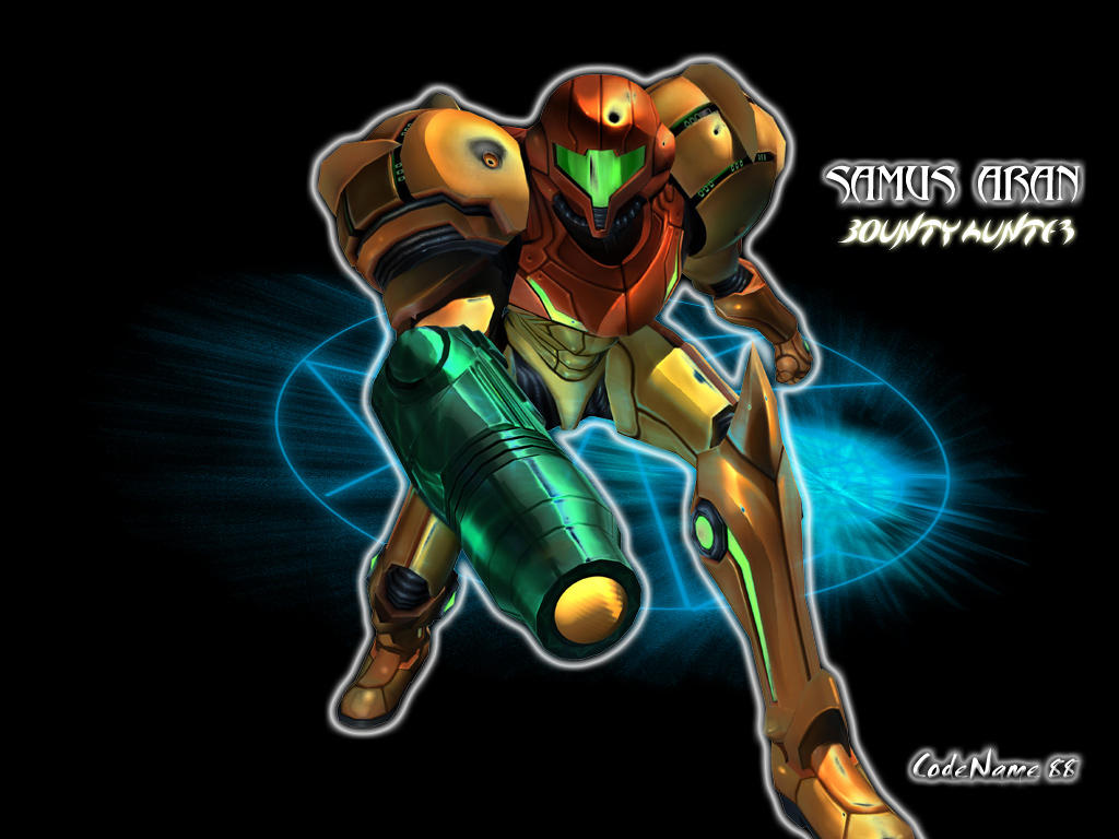 Samus Aran by CodeName-88
