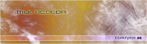 Multicolor by CodeName-88