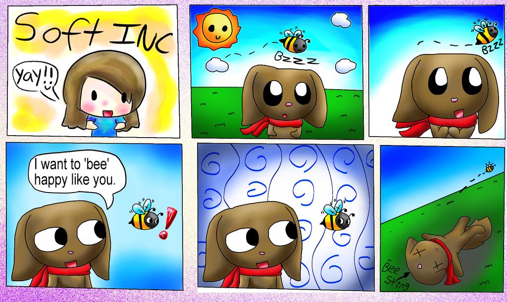 Bee Happy by TheCreatorOfSoften