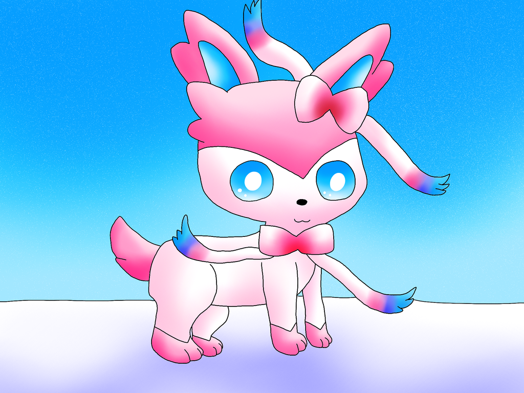Sylveon by TheCreatorOfSoften