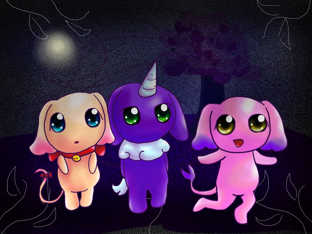 Fluffy Kids by TheCreatorOfSoften