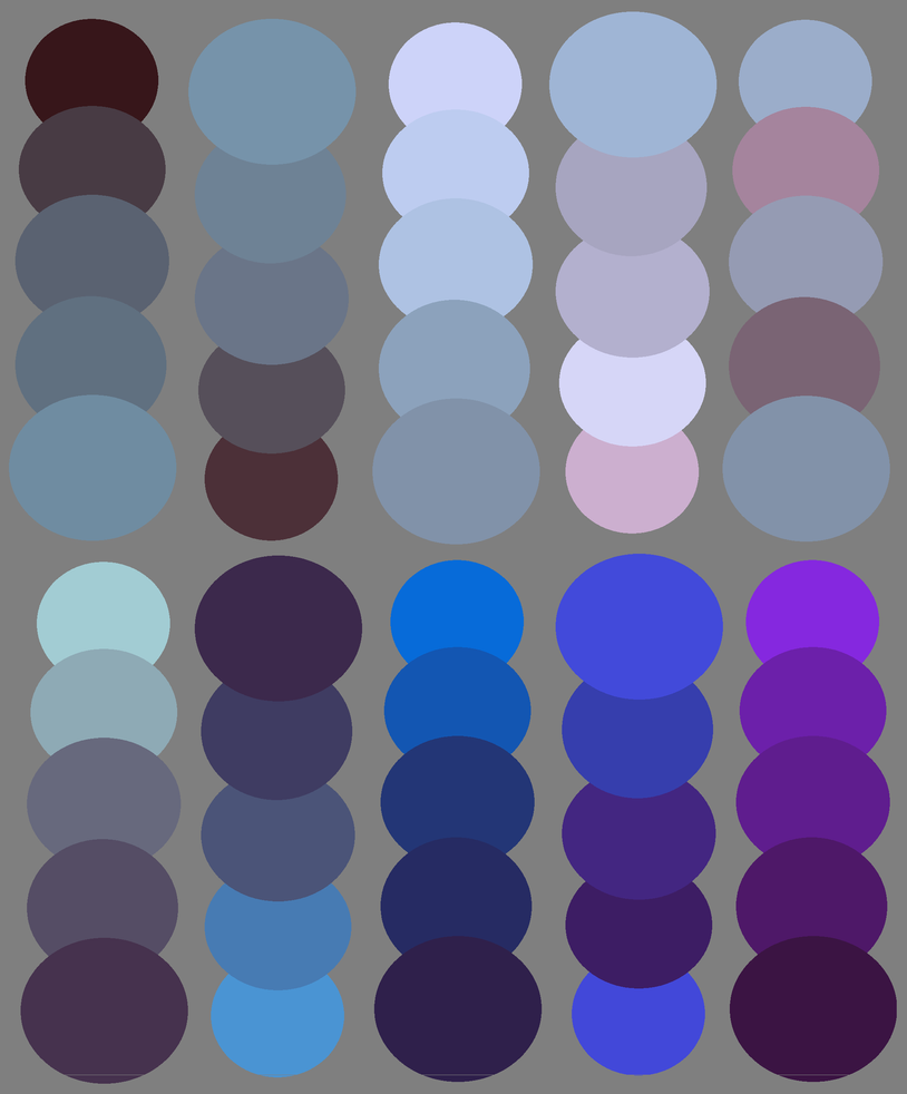 Blue Palettes Commission by ee-palettes