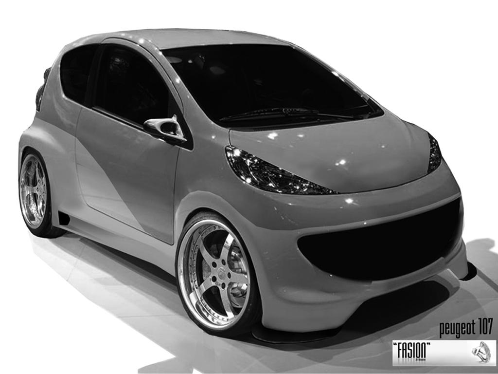 neu custom peugeot 107 by fasion on deviantart. Black Bedroom Furniture Sets. Home Design Ideas