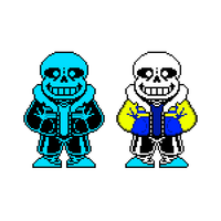 OuterTale Sans The Skeleton sprite by tehgruetpoopyrus