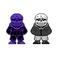Fatal Revolves: Sans The Skeleton sprite by tehgruetpoopyrus
