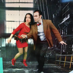 The Doctor and Oswin