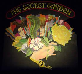 Secret Garden Mural Finished