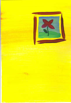 Postcard - flower