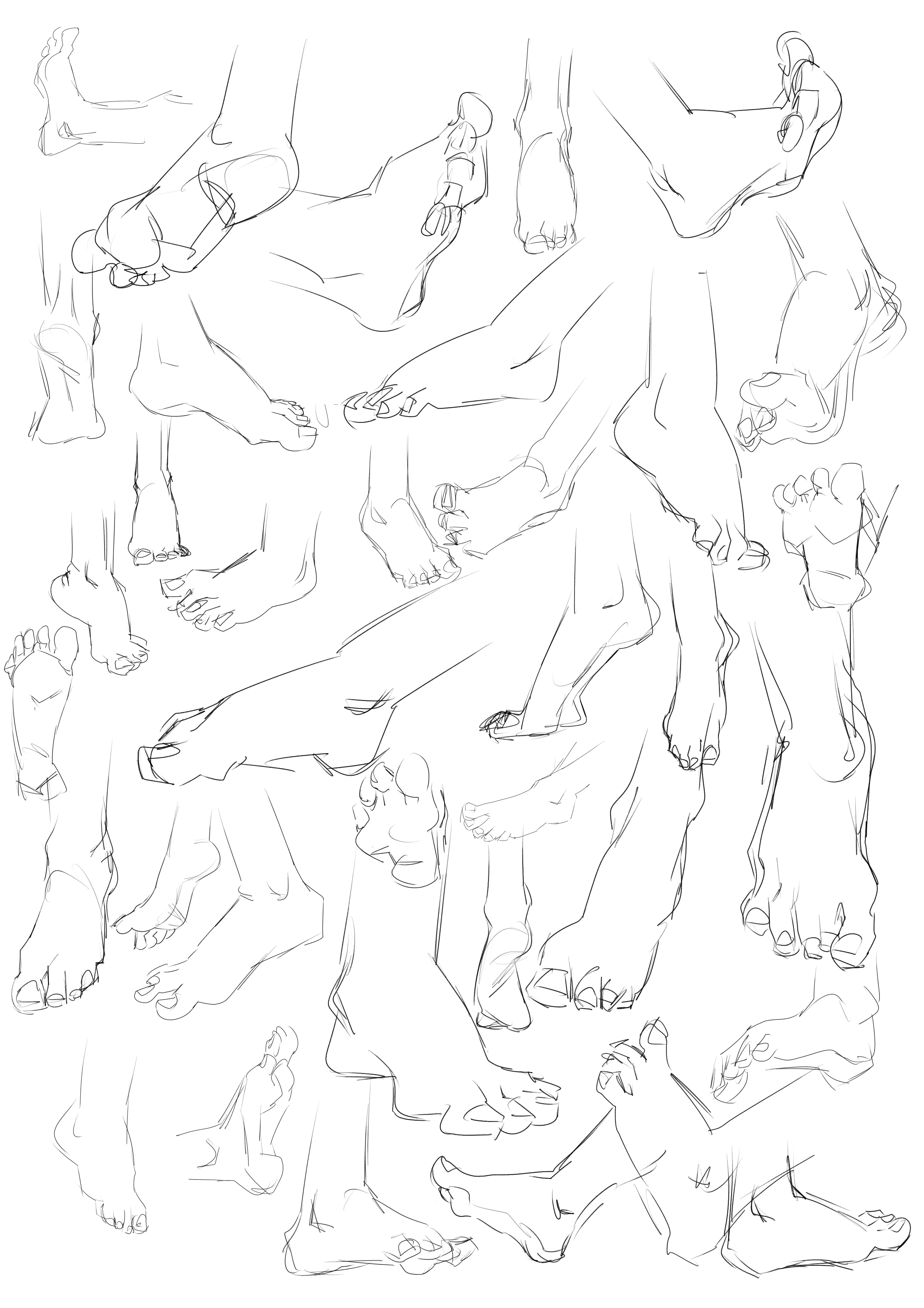 Les croquis de Lama BG - Page 2 Feet_by_lamanon-dcghive