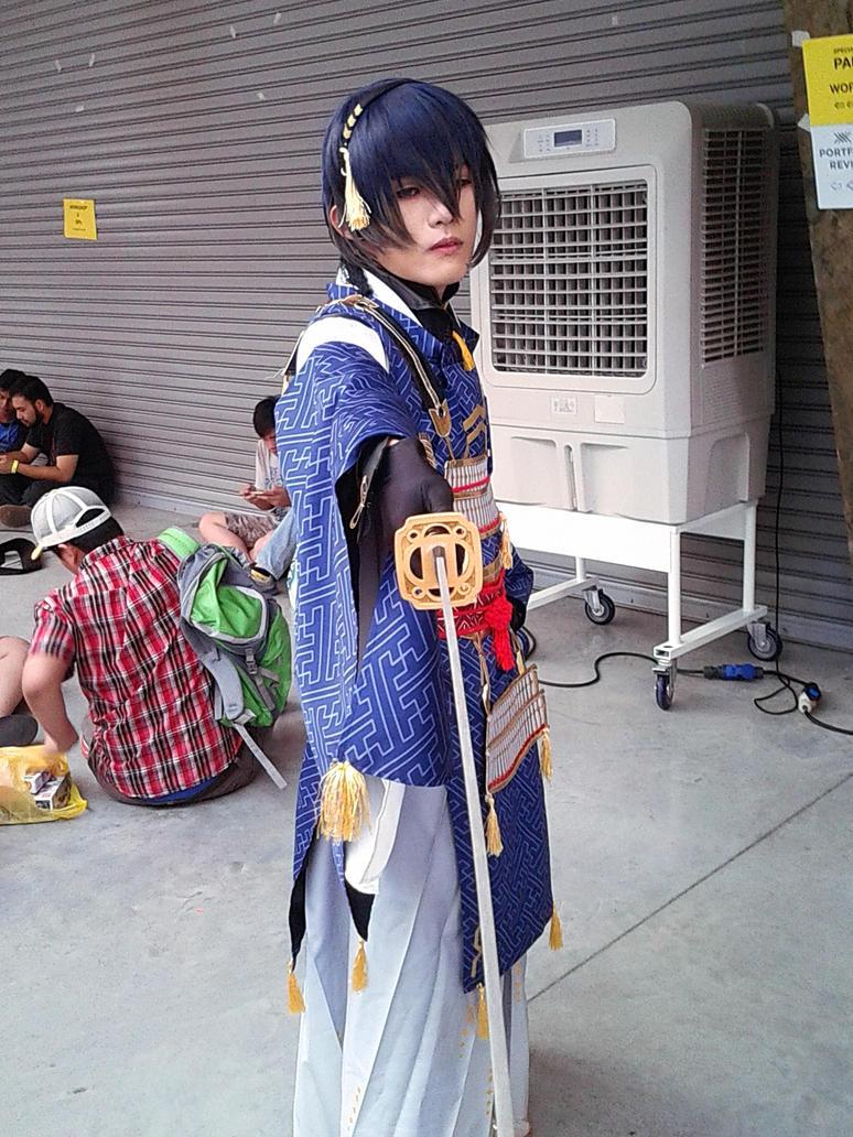 touken ranbu Mikazuki Munechika VAE 2016 ver 3 by ashchistyle