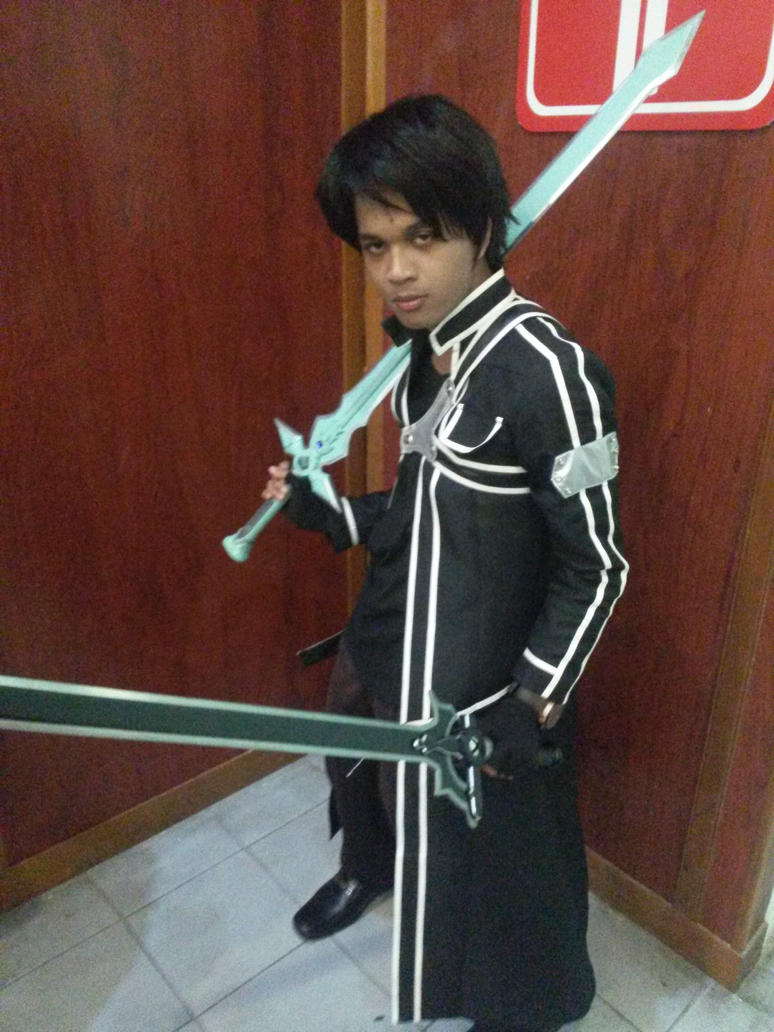 KIRITO FROM SOA ONLINE! by ashchistyle