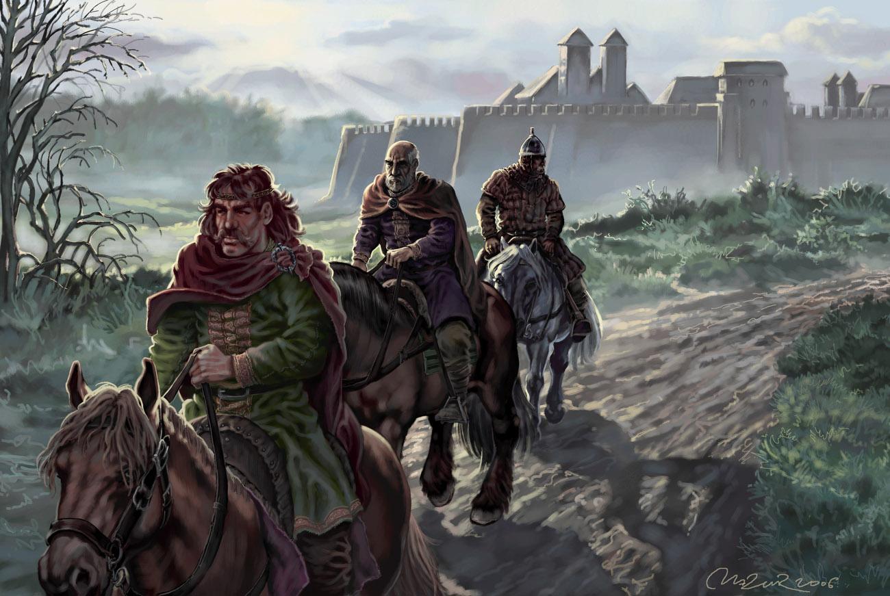 Warriors left the city