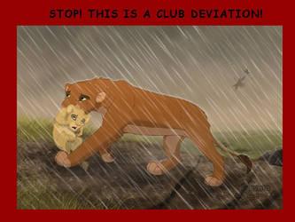 Keep holding on by Nyashia by The-Savannah-Club