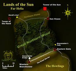 Demon's Wheel - Land's of the Sun - Far Helia