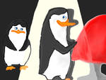 the penguins of madagascar - Kowalski with private