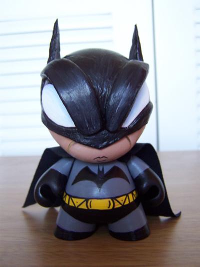Batman Munny by nahiros