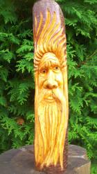 petit wood spirit by traficotte