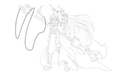 Soul Reaper - Line Art