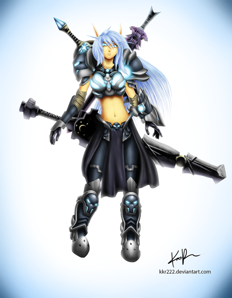 Frost-Death-Knight by DigiFlohw on DeviantArt