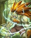 Hug Me (Blanka - Street Fighter) by DigiFlohw