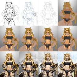 Leone (Akame ga Kill!) - Process
