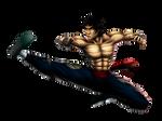 Marshall Law (Tekken) by DigiFlohw