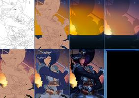 BDO Pirate Fan Art Contest (Process)