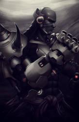Doomfist (Overwatch) by DigiFlohw