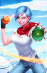 Bulma (Dragon Ball Super) by DigiFlohw
