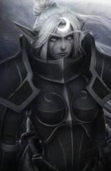 Warden Faeb (World of Warcraft) by DigiFlohw