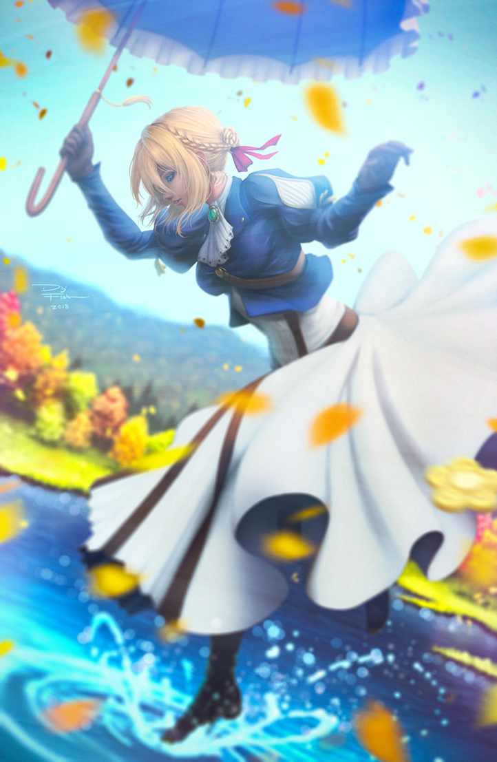 Olive's Ending (Violet Evergarden) by DigiFlohw